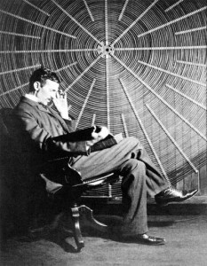 Tesla y su transformador