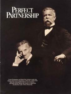 Nikola Tesla y George Westinghouse lograron desarrollar la corriente alterna para aplicarla en todos los Estados Unidos