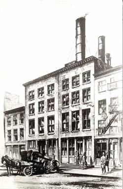 La central de Pearl Street, de Edison