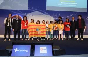 La gala PlayEnergy fue el premio para el grupo de alumnos del Colegio Tío Jorge