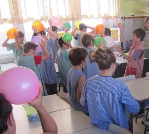 La electricidad eléctrostática en clase