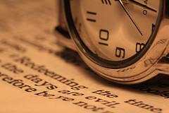 """Fotografía """"Time"""", del usuario de Flickr """"listentothemountains"""""""
