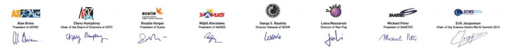 Firmas de la Declaración de Mechelen