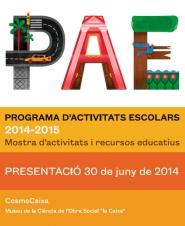 Programa de actividades escolares de Barcelona