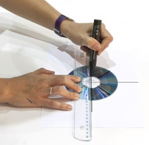experimento de turbina de agua: dibujar lineas