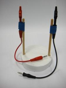 Torre eléctrica del experimento