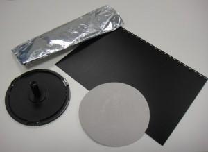 Materiales para construir un electróforo