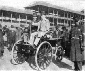 Electrobat, primer coche eléctrico funcional