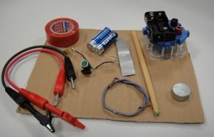 Material para construir un sensor