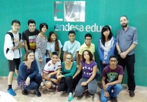 Grupo responsable de la actividad de aprendizaje y servicio