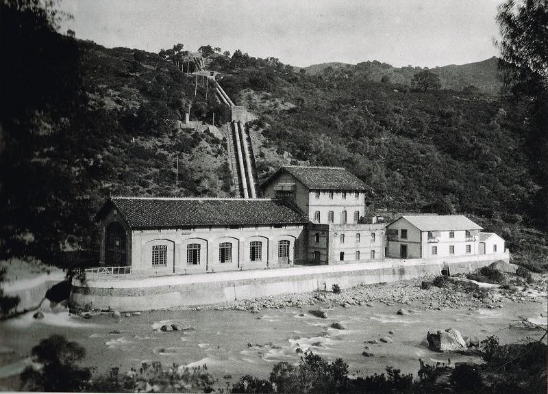 Central hidroeléctrica Corchado