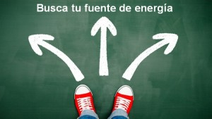 Busca tu fuente de energía